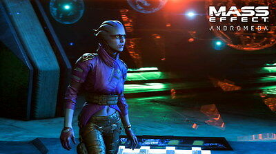 """045 Mass Effect 4 - Andromeda ME Fighting Shooting Game 42""""x24"""" Poster"""