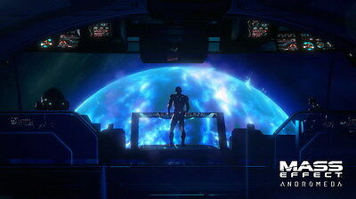"""051 Mass Effect 4 - Andromeda ME Fighting Shooting Game 42""""x24"""" Poster"""