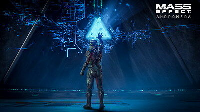 """052 Mass Effect 4 - Andromeda ME Fighting Shooting Game 42""""x24"""" Poster"""