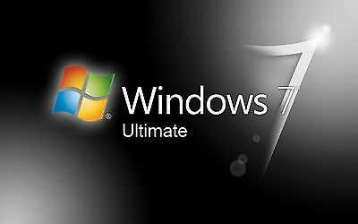 Windows 7 Ultimate Key Licenza 3264 Bit Multi-Lingua