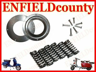 New Vespa Clutch Springs Rivets And Steel Plates Px Pe Lml Deluxe @cad