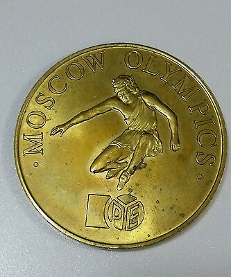 Russian USSR Moscow Olympics  Medal 1980s (6)