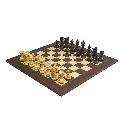 The Large Kingsgate Rosewood Palisander Luxury Chess Set 4.25 inch King RCP322