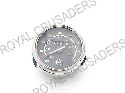 New Vespa Px 150 Dual Reading Speedometer 0-120Km And 0-80Mph #vp61 @pummy