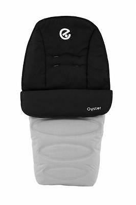 Babystyle Footmuff for Oyster 2, Max, Switch, Imp & Zero Pushchairs PURE SILVER