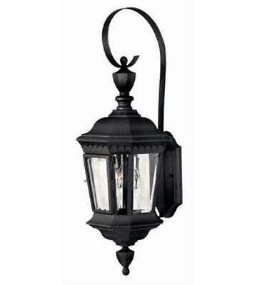 Hinkley 1704BK Camelot Outdoor Lighting Lamps 9in Black Cast Aluminum 3-light