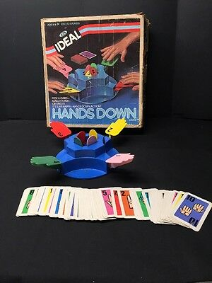 Hands Down Game by Ideal 1981 Vintage Game #8529-0