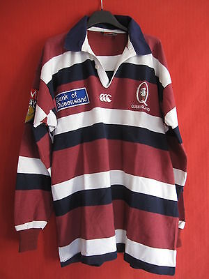 Maillot Rugby Canterbury St. George Bank Queensland Reds Austalie Vintage - XL