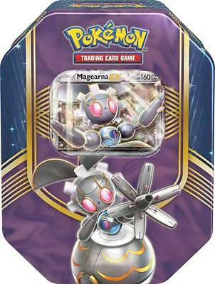 Pokemon TCG Trading Cards; Battle Heart Tin - Magearna-EX! FACTORY SEALED!