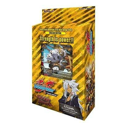 FUTURE CARD BUDDYFIGHT * Savage Steel Trial Deck
