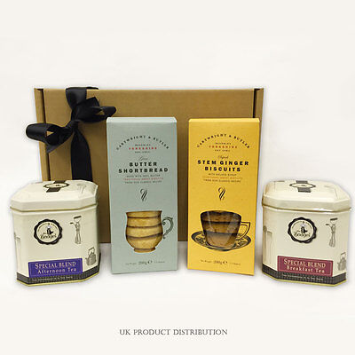 The Ultimate British Tea & Biscuits Hamper - The Perfect Gift From UKPD