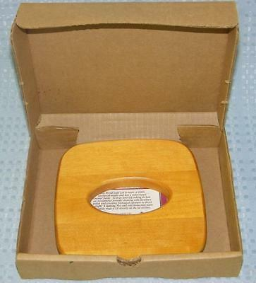 Lid only for your Longaberger tissue basket 100% maple