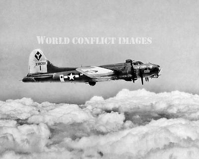 USAAF WW2 B-17 Bomber 2nd Patches 8x10 Photo 99th BG 15th AF WWII