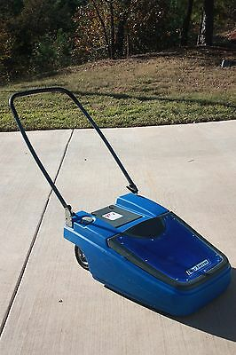 Fairlane Battery Operated Walk Behind Floor Sweeper By Twi W/ New Battery