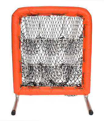Better Baseball Pitchers Pocket 9 Hole Baseball Softball Pitching Target ORANGE