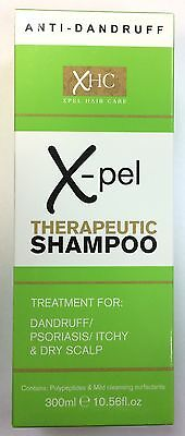 XHC Therapeutic Shampoo For Dandruff/Psoriasis/Itchy & Dry Scalp 300ml