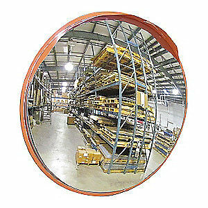 GRAINGER APPROVED Outdoor Convex Mirror,40 In. Dia., 3LYC2