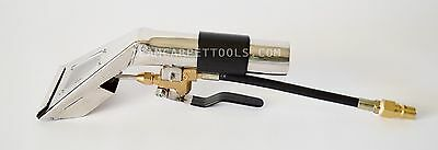 "Carpet Cleaning 4"" ENCLOSED DETAIL WAND Upholstery Auto Tool W/ VIEW WINDOW"