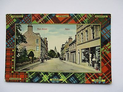 High Street , Nairn - Tartan Border