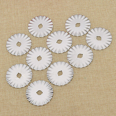 10pcs 45mm Rotary Cutter Blade for Paper Trimmer Fabric Cutting Hand Craft Tool
