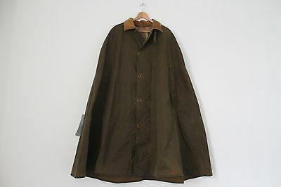 """Vintage J. Barbour Findlay Wax Cape 42"""" (Small)"""