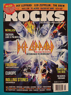 Rocks 06/2016 Nr.55 Nov./Dez Das Magazin für Classic Rock mit CD ungel. abs. TOP