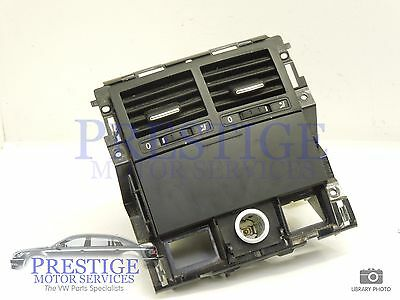 VW Touareg 7L Rear Centre Air Vents with Cubby and 12V Outlet 7L6819203C