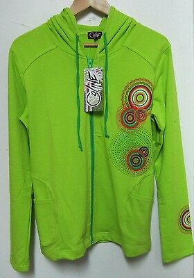 """GILET / SWEAT SHIRT """" COLINE """" Taille XL - Couleur VERT ANIS - NEUF"""