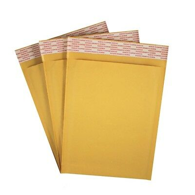 50 Pack 6x9 Kraft Bubble Mailers Self Seal Padded Shipping Envelopes #0