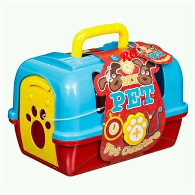 New Childrens My Pet Vet Centre Playset With Plush Toy & Accessories 3+
