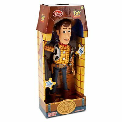 "Disney Toy Story Pull String Woody 16"" Talking Doll Figure - Free Shipping"