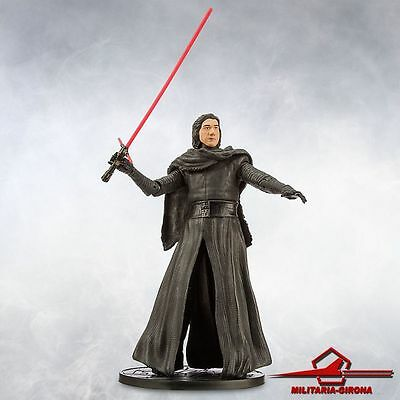 Kylo Ren Unmasked - Lord Sith First Order Elite Diecast Figure 6 1/2'' Star Wars