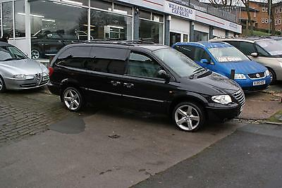 2005 55 Chrysler Grand Voyager 2.8 Crd Limited Xs Automatic Black Diesel