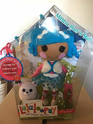 NEW lalaloopsy Mittens Fluff and Stuff doll