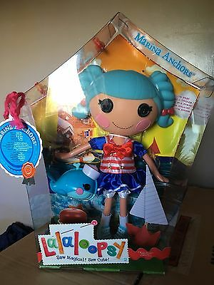 NEW Lalaloopsy Doll - Marina Anchors with pet whale Rare