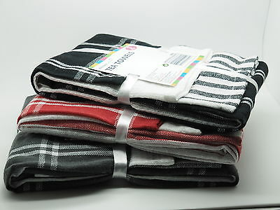 Set of Tea Towels 70% Cotton 30% Polyester Three In One Pack High Quality