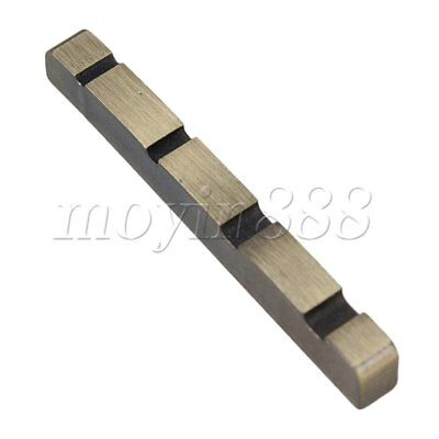 38 x 3.6mm Stainless Steel 4 String Guitar Nut For Acoustic Guitar BASS Bronze