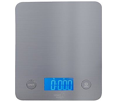 Smart Weigh Digital Multifunction Stainless Steel Food and Kitchen Scale