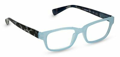 NEW Peepers Reading Glasses Strength +2.50 Sweet Talk Blue - Free Shipping!