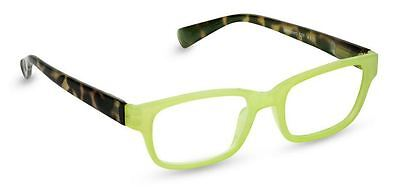 NEW Peepers Reading Glasses Strength +2.50 Sweet Talk Green - Free Shipping!