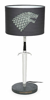 HBO Game of Thrones Longclaw Desk Lamp - John Snow Sword - Officially Licensed