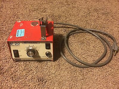 Meisei Hot Weezers M-20 Power Supply Station Thermal Wire Strippers