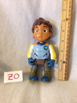 """2007 Dora The Explorer Diego 6"""" Articulated Action Figure Guc"""