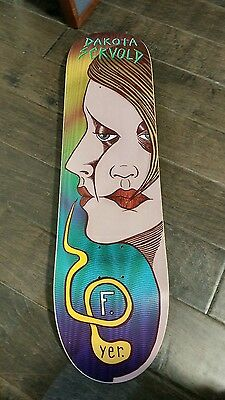 nos foundation dakota servold 1st pro model skateboard deck