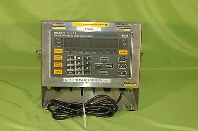 Dillon FI-127 Programmable Load Cell Force Indicator, Digital Scale Display