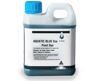 Aquatic Blue Eco Pond Dye 1 litre - Colourant for any body of water
