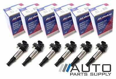 Holden VZ Commodore V6 set of 6 Ignition Coil Packs Genuine ACDelco