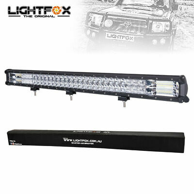 Pair 5inch 72w LED Light Bar Cree Flood Beam Offroad Work Driving 4WD