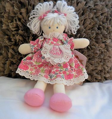 Kate Finn First Birthday Doll With Tag