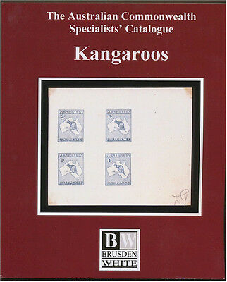 ACSC Australian Commonwealth Specialists' Catalogue 2017 edition of KANGAROOS